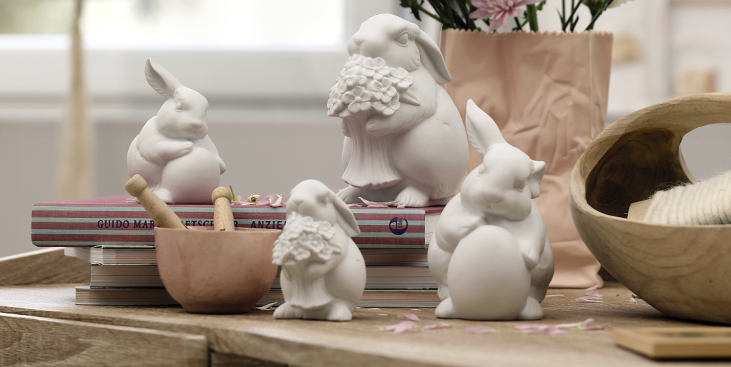 These Easter bunnies will bring you joy!  - Easter is the time for bunnies. And what would Easter decorations be without these sweet little guys?