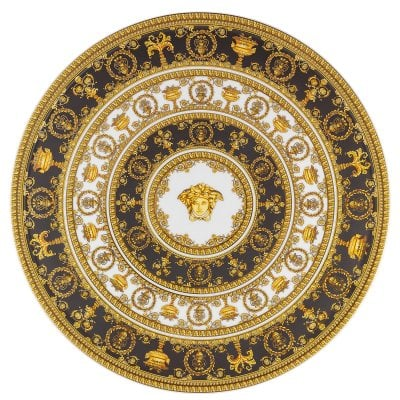 Tartplate on Foot Versace I Love Baroque