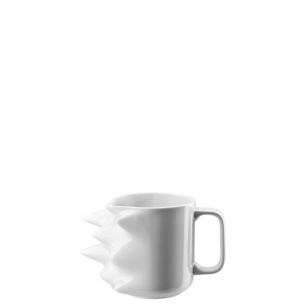 Mug with handle large Fast White