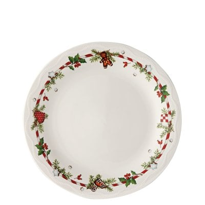 Plate 26 cm Decoration series Weihnachtsleckereien