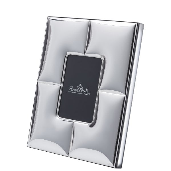 Lamp/photoframe 9 x 13 cm Silver Collection Charge - rechteckig