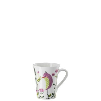 Mug with handle My Mug Collection Birdie - Pink