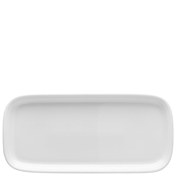 Sandwich tray rectangular Trend White