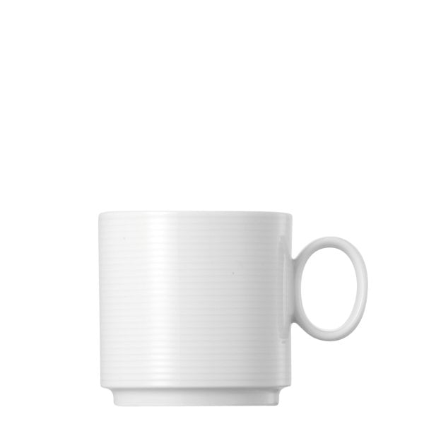 Cup 4 tall stackable Loft by Rosenthal White