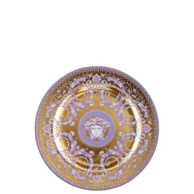 Plate flat 22 cm / 25 years Versace Gr.Divertissem./gold