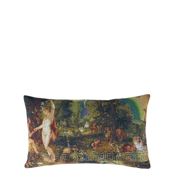 Pillow with filling 30 x 50 cm COLLECTION #331_RAINBOW by 'zoeppritz since 1828' x Rosenthal - Grotesque Paradise Colour Mix