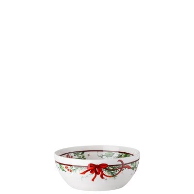 Cereal bowl 15 cm Cozy Winter decorated