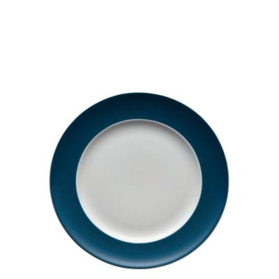 Assiette plate 22 cm Sunny Day Petrol