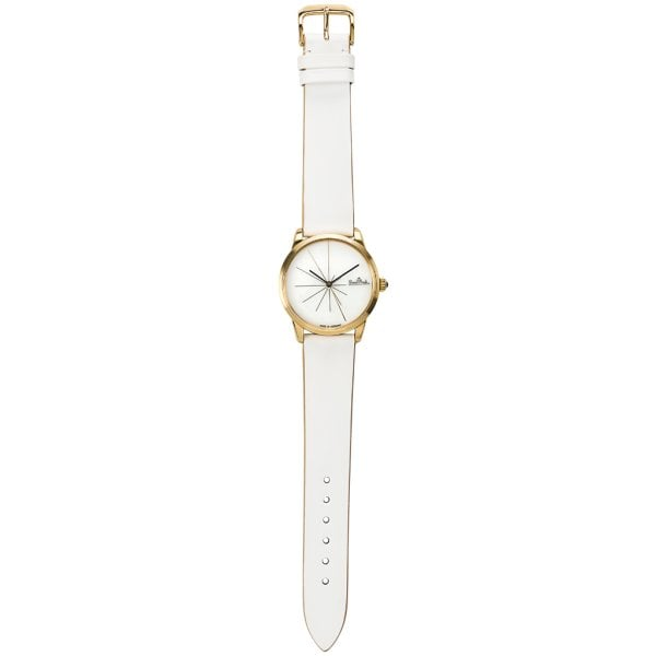 Wrist watch Lady Sunset gold-white-white
