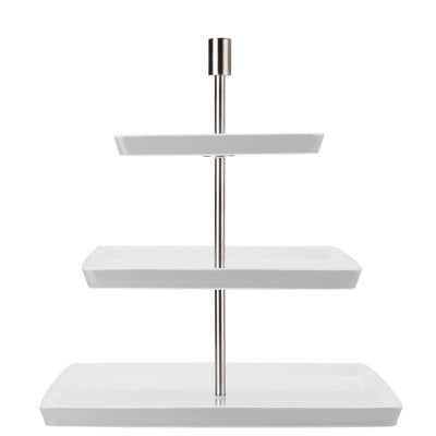 Etagere squ. 3 tiers Loft by Rosenthal White