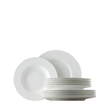 Dinner set 12 pcs. Jade White