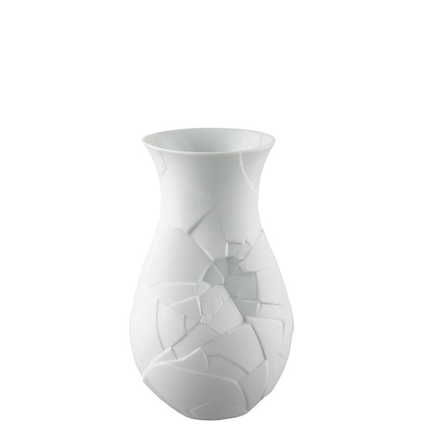 Vase 21 cm Vase of Phases Weiß matt