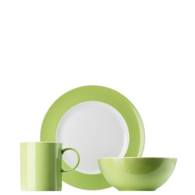 Child´s set 3 pcs. Sunny Day Apple Green
