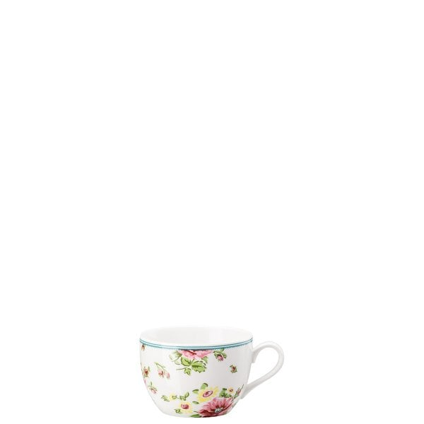 Cappuccino cup Springtime Flowers
