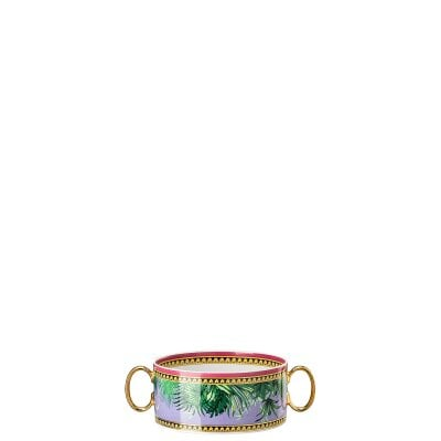Tazza brodo 2 Versace Jungle Animalier