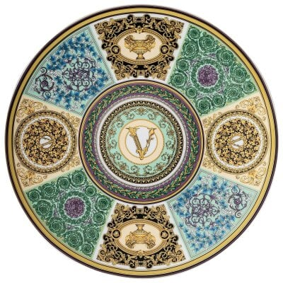 Service plate 33 cm Versace Barocco Mosaic