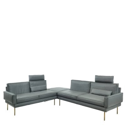 Suite MODULAR Grey Leather
