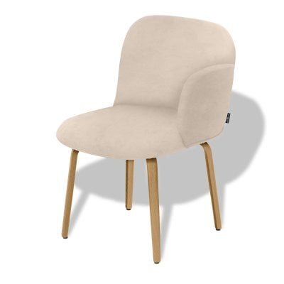 Chair armrest right BOLBO Light Sand Fabric