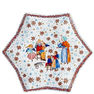 Tray star-shaped 34 cm Sammelkollektion 20 Christmas bakery