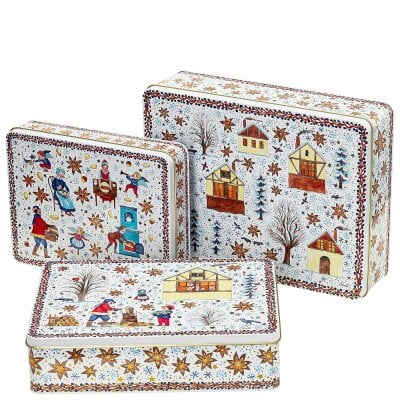 Set 3 biscuit tins Sammelkollektion 20 Christmas bakery