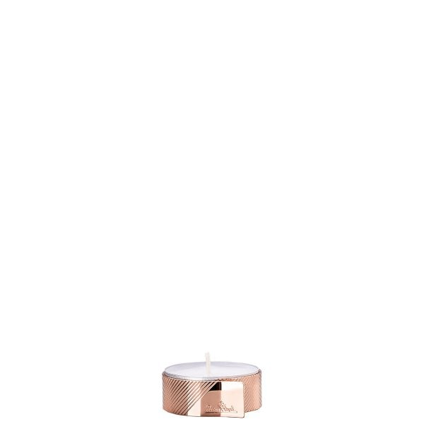 Tealight holder 4 cm Silver Collection Tealight Rose Gold