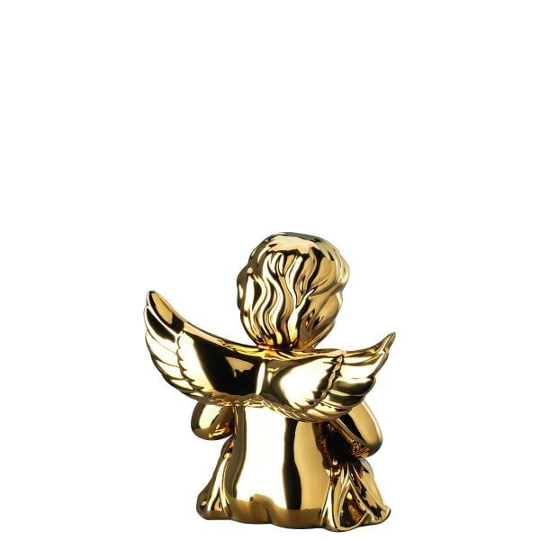Angel with heart Angel middle Gold titanisiert