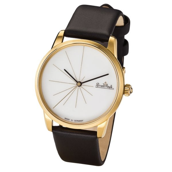 Damen-Armbanduhr Sunset gold-white-black