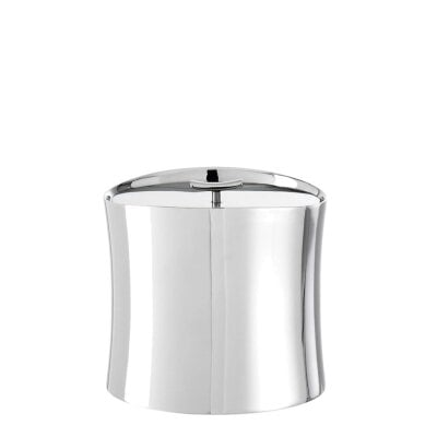 Insulated ice bucket Bamboo silver plated