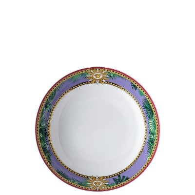 Assiette creuse 22 cm Versace Jungle Animalier