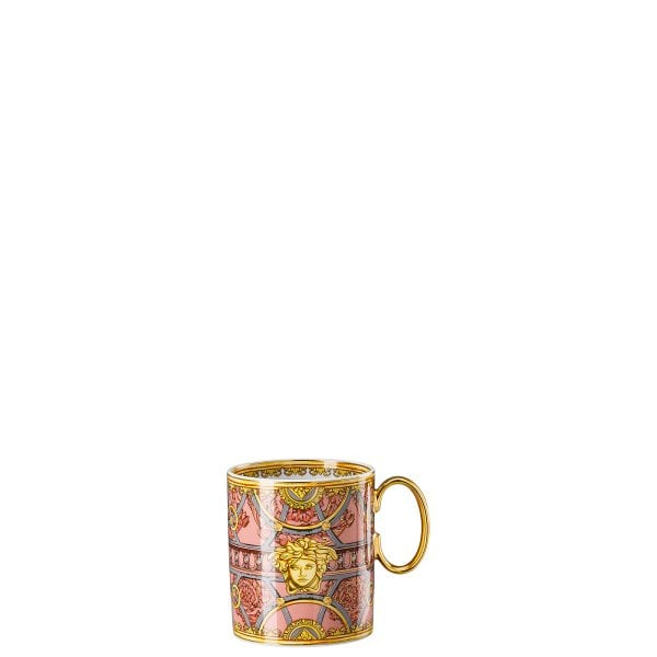 Mug with handle Versace Scala Palazzo Rosa