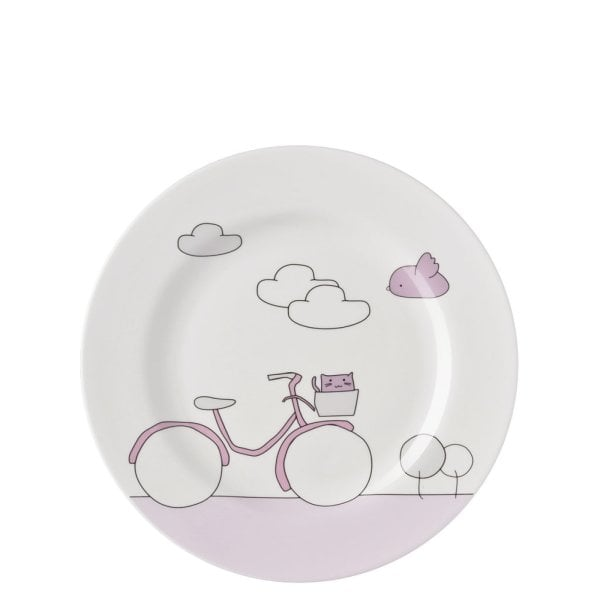 Kinderset 3tlg. Kids Pink Bike