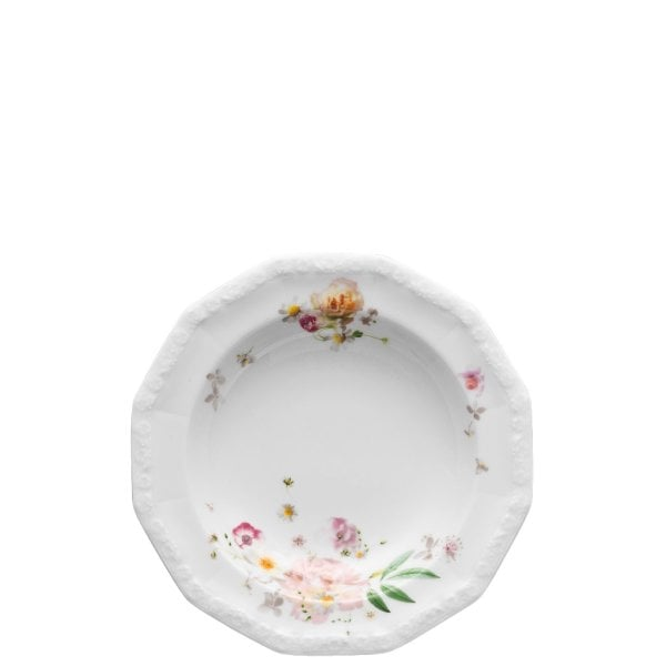 Plate deep 21 cm Maria Pink Rose