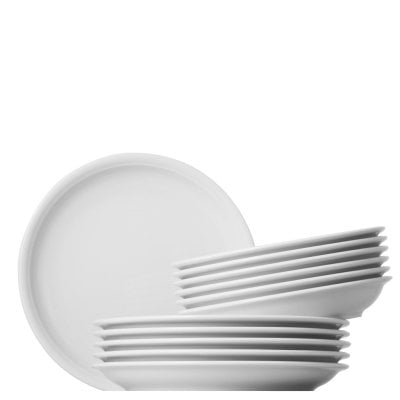 Dinner set 12 pcs. Trend White