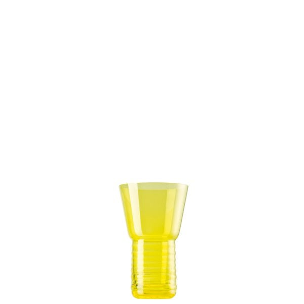 Glass Holder 8 cm ONO Glas, bright lemon