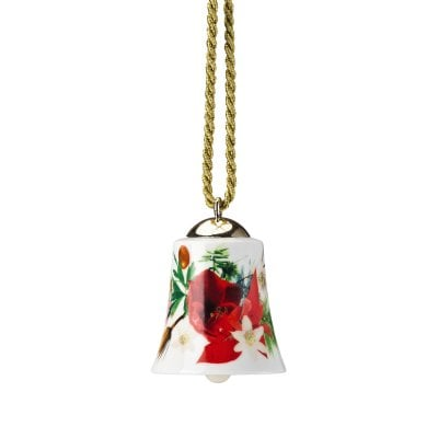 Porcelain bell Maria Winter Rose