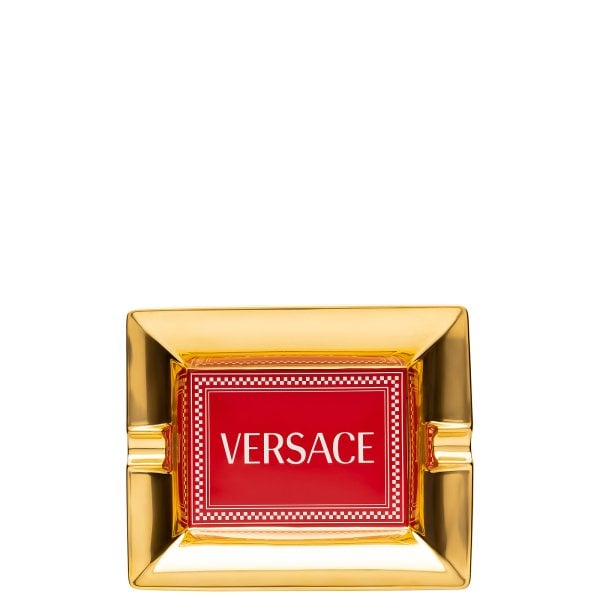 Ashtray 16 cm Versace Medusa Rhapsody Red