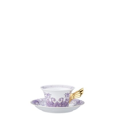 Tea cup & saucer / 25 years Versace Grand Divertissement