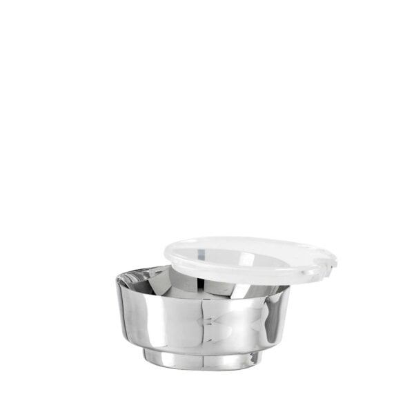 Cheese pot with cover t-light Stainless steel 18/10