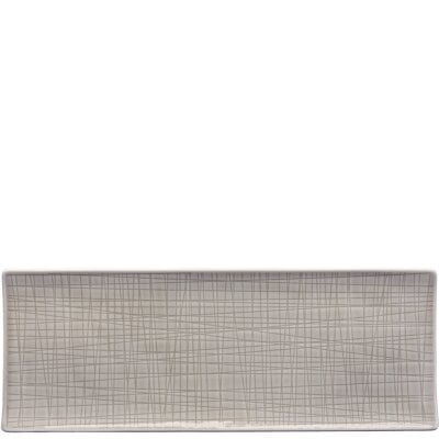 Platter flat 34 x 13 cm Mesh Colours Mountain