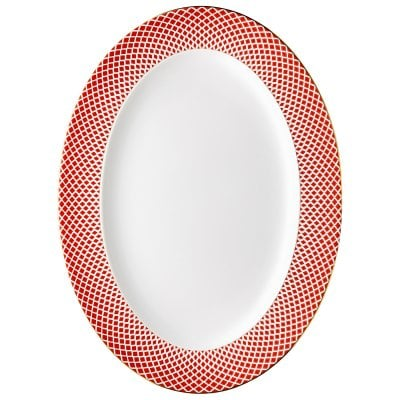 Platter 40 cm Francis Carreau Rouge