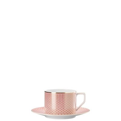 Piattino tazza combi Francis Carreau Rouge