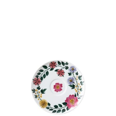 Piattino tazza cappuccino Magic Garden Blossom