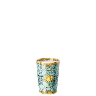 Table light 2 pcs. with scented wax Versace Scala Palazzo Verde
