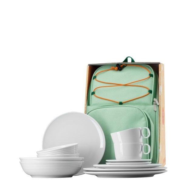 Set 12 pcs. with backpack ONO White