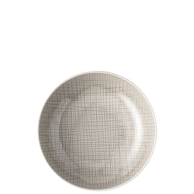 Plate deep 21 cm Mesh Colours Mountain