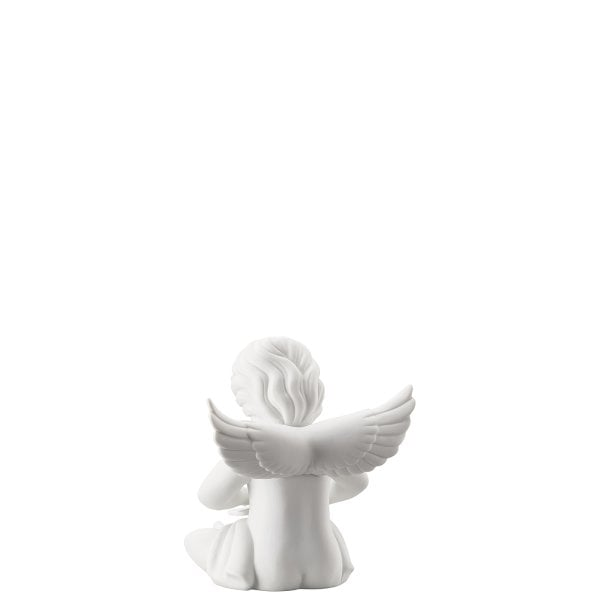 Angel with tablet Engel gross White-mat
