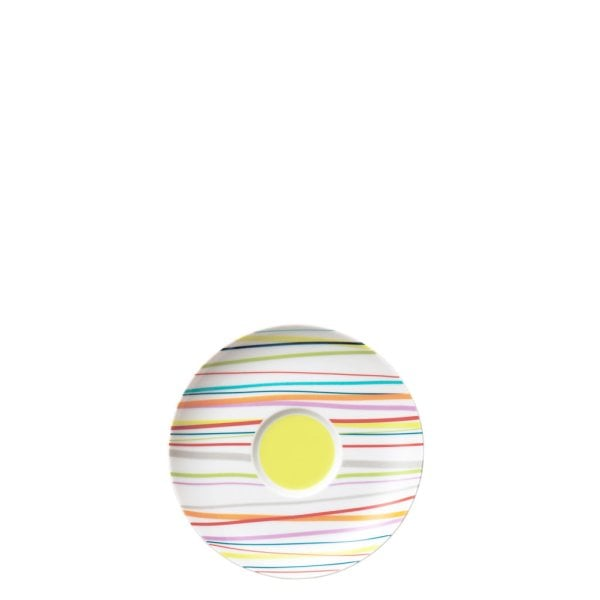 Saucer 4 low & combi Sunny Day Sunny Stripes