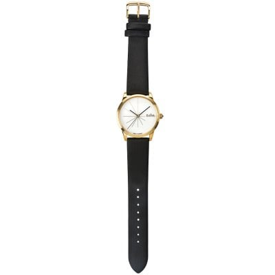 Wrist watch Lady Sunset gold-white-black
