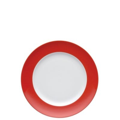Assiette plate 22 cm Sunny Day New Red