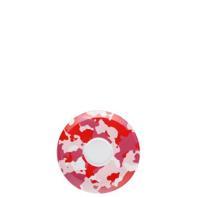 Saucer 4 low Sunny Day Camo Red